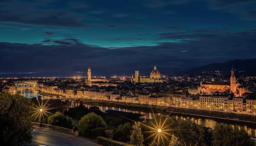 Florence Evening Walking and Wine Tour – private tour