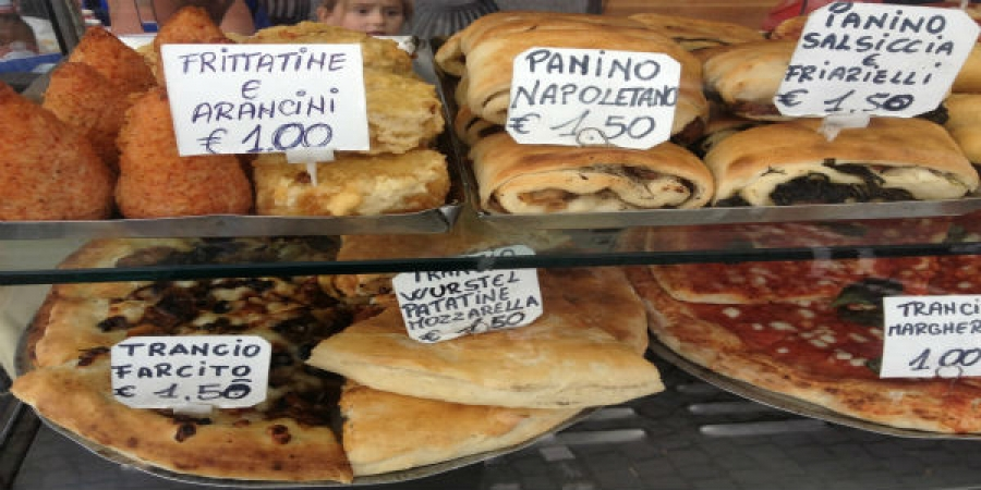 Heart of Naples Stroll with Local Street Food Tastings - small group tour