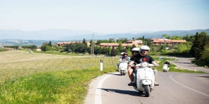 Tuscany Vespa Tour - The Tuscan landscapes on board of an Italian icon - small group and private tours offered