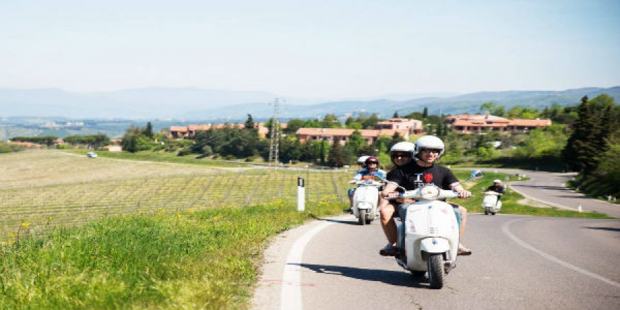 Vespa Tour Florence Half Day
