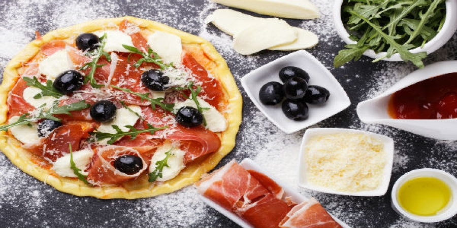 Pizza & Gelato Making Cooking Class - group class located in center city of Florence