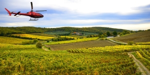 Private Helicopter Tour - Take to the Tuscan Skies to include Lunch and Wine Tasting